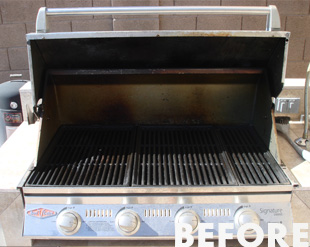 BBQ - before cleaning by Oven Valets with non-toxic and environmentally friendly cleaning products. - image